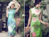 Die Qipao oder das chinesische Cheongsam ist als klassisches Frauen-Kleidungsstück seit Jahrhunderten in China beliebt und gilt als Symbol orientalischer Schönheit.