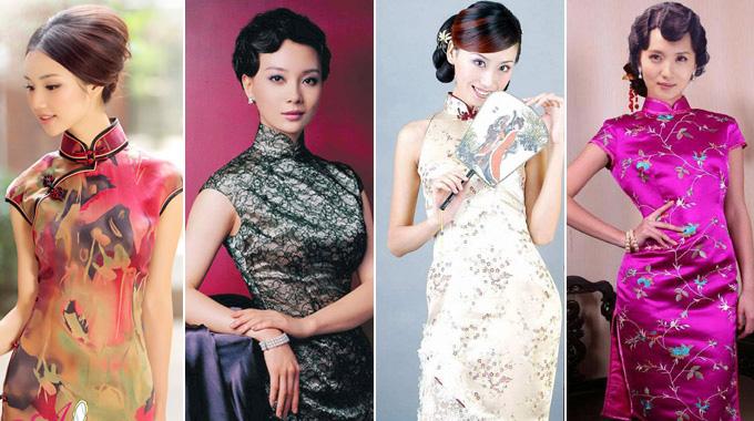 Qipaos zeigen zurückhaltende Erotik chinesischer Frauen - german ...