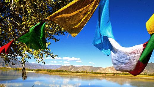 Herbststimmung in Tibet