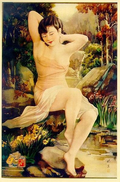 Erotische Malerei aus China - Tempel der Orchidee