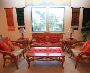Chinas erstes Sieben-Sterne-Seniorenheim in Haikou, der Hauptstadt der südchinesischen Provinz Hainan. Mit genau auf die Senioren zugeschnittenen Angeboten ist das Gongheyuan das teuerste Seniorenheim in der Provinz.