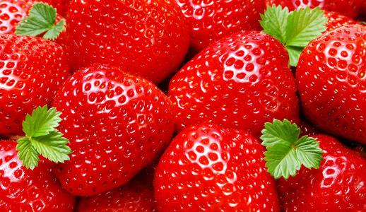 """Предпросмотр схемы вышивки  """"клубничка """". клубничка, для кухни, еда, фрукты, предпросмотр."""