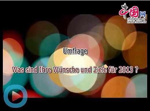 Deutsche in China: Wünsche und Ziele für das neue Jahr 2013