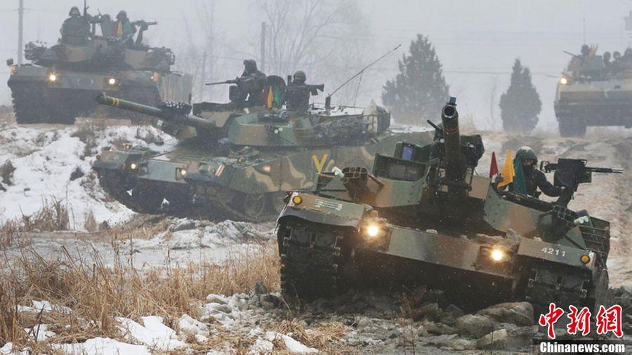 armee nordkorea südkorea vergleich