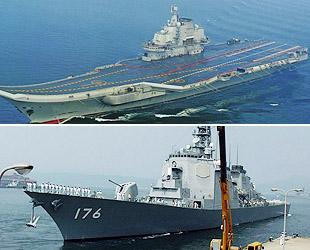 Die japanische Marine besitzt mit ihren modernen Waffen und Anlagen seit langem den Spitzenplatz unter allen Seestreitkräften in Asien. Die starke wirtschaftliche und industrielle Basis ermöglichen eine rasante Entwicklung der chinesischen Marine.