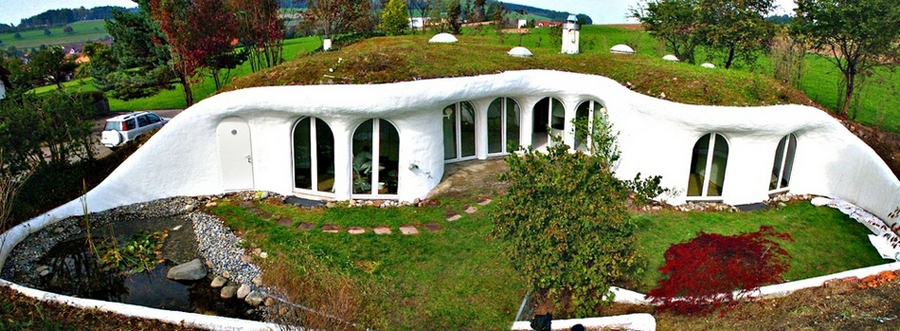 7 Amazing Houses Built Into Nature: German.china.org.cn