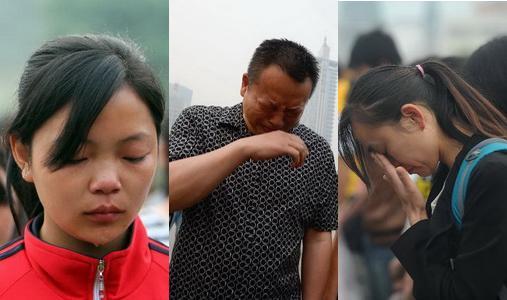 Am Samstagmorgen fanden in unterschiedlichen Städten in der südwestchinesischen Provinz Sichuan Trauerfeiern für die Opfer der jüngsten Erdbebenkatastrophe statt.