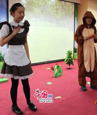 Am letzten Samstag haben an der Fremdsprachenschule Beijing die Finalrunden zum nationalen Wettbewerb 'Wald der Talente' (für Lernende auf Niveau A1/A2) stattgefunden. Der Wettbewerb ist ein gemeinsames Projekt der Zentralstelle für Auslandsschulwesen und des Goethe-Instituts China.