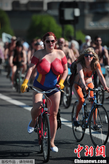 Manchesters naked bike ride 2015 - Manchester Evening News