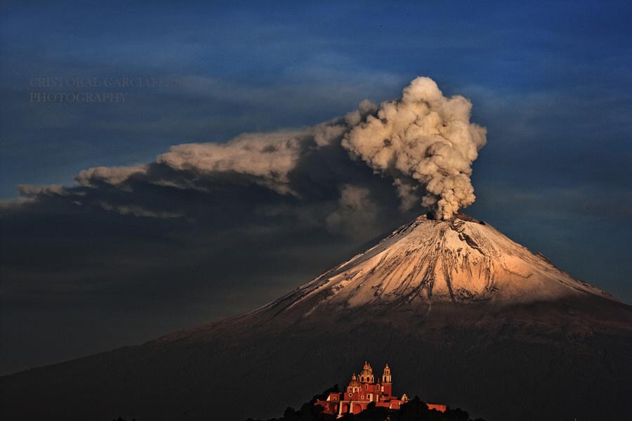 Vulkan Popocatepetl Livecam