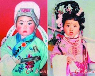 Im chinesischen Internet läuft dieser Tage eine Kampagne, bei der die Netizens ihre Kindheitsfotos zeigen, an die sie eigentlich lieber nicht zurückdenken wollen. Das kann daran liegen, dass die Kinder auf den Fotos sehr komisch geschminkt und bekleidet waren oder sehr lustig posiert haben.