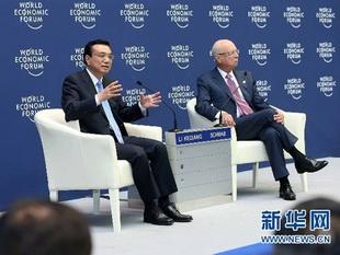 Chinas Premierminister Li Keqiang hat am Dienstag im nordostchinesischen Dalian Unternehmensvertreter empfangen, die am diesjährigen Sommer-Davos-Forum teilnehmen.