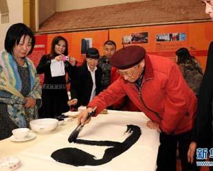 Die 'Veranstaltung zum Gedenken des 120. Geburtstags Mao Zedongs von Ministern, bekannten Malern sowie Kalligrafen', die von der Vereinigung der Malerei und Kalligrafie Chinas, dem Forschungsinstitut zur berühmten Kalligrafie und Malerei Chinas und der Huatu Hongyang Corp. Ltd. gemeinsam ausgerichtet wurde, fand am 16. Dezember 2013 in Bejing statt.