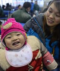 Wanderarbeiter in Zhejiang haben sich bereits vor dem Reiseansturm anlässlich des Frühlingsfestes, das das Passagieraufkommen in Zhejiang Schätzungen zufolge auf 220 Millionen steigen lassen wird, auf den Weg nach Hause gemacht.