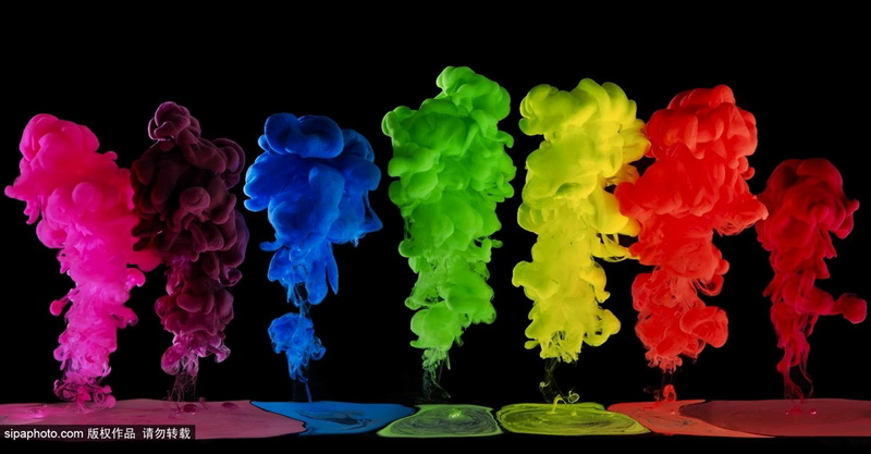 Explosion Of Colors Paint