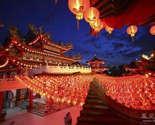 Ausl?ndische Fotografen machen Fotos vom chinesischen Frühlingsfest