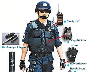 Laut einem Bericht der Modern Life Daily (Provinz Guangxi) haben Spezialeinheiten der chinesischen Polizei in den letzten Jahren ihre Ausgaben für Waffen und anderes Equipment erhöht, um auf potenzielle Terroranschläge besser vorbereitet zu sein.