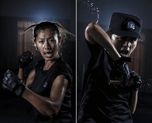 Frauen sind in chinesischen Sondereinheiten der Polizei keine Seltenheit. In Chengdu, Hauptstadt der Provinz Sichuan, gibt es sogar ein komplettes SWAT-Team, das nur aus Frauen besteht. Wir stellen Ihnen zwei der weiblichen SWAT-Mitglieder vor.