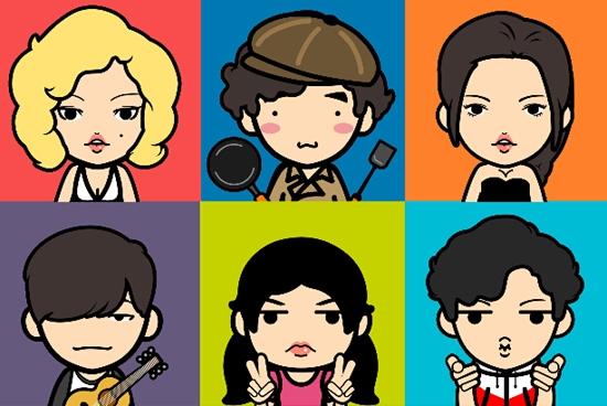 Comic Profilbild App