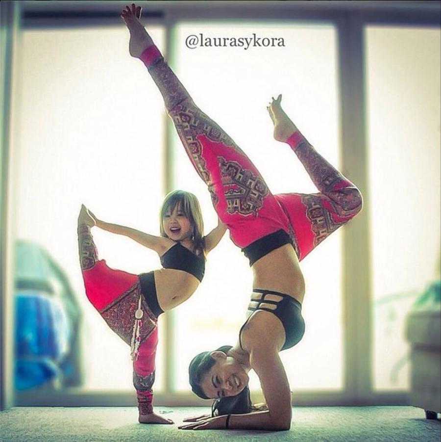 Bilder - german.china.org.cn - Die süßesten Yoga-Übungen der Welt