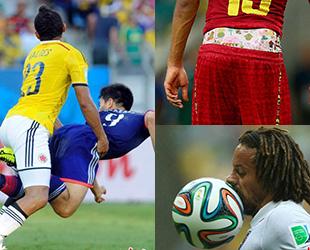 Lustige Un- und Zwischenfälle bei der WM 2014