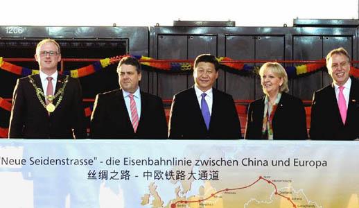 Xi: China und Deutschland sollen Wirtschaftsgürtel an der Seidenstraße schaffen