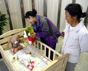 Bahnhof in Jinan stellt für Mütter Stillzimmer zur Verfügung