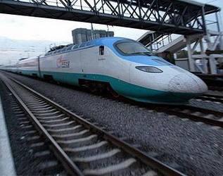 Die Globalisierung von Chinas Hochgeschwindigkeits-Eisenbahn