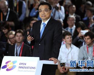 Der chinesische Ministerpräsident hat während seines Russland-Besuches die Notwendigkeit von Innovationen bekräftigt.