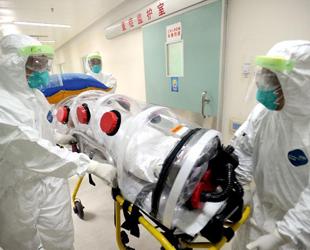 Am 23. Oktober fanden in Guangzhou Weiterbildungen und Übungen zum Umgang mit Ebola-Patienten und dem Kampf gegen das tückische Virus statt.