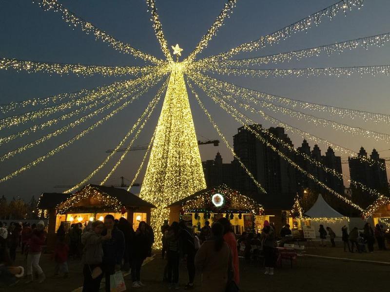 Wo Ist Der Größte Weihnachtsmarkt.Reise German China Org Cn Ein Blick Auf Chinas Größten