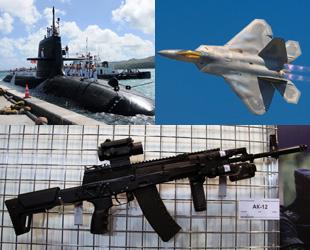Ständiger technologischer Fortschritt lässt die Konkurrenz zwischen den Ländern wachsen, und laufend werden größere und zerstörerischere Waffen entwickelt. Wir werfen einen Blick auf die Top 10 innovativsten Waffen des Jahres 2014.
