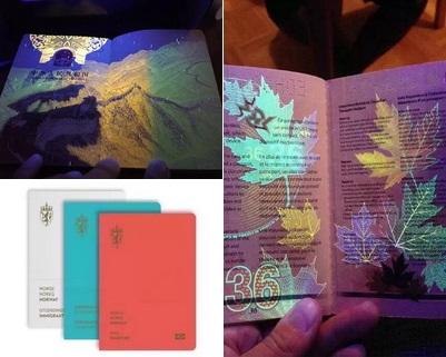 Derzeit kursiert im chinesischen Internet eine Bildergeschichte, welche die Schönheit des chinesischen Reisepasses zeigt, die mit bloßem Auge ebenfalls nicht zu erkennen ist.