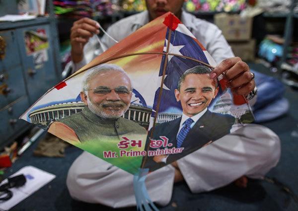 Indien könnte wieder einmal gegenüber China ins Hintertreffen geraten. Es ist dieser Hintergrund, der den Besuch von US-Präsident Barack Obama als Hauptgast bei der Parade anlässlich Indiens Tag der Republik interessant macht.