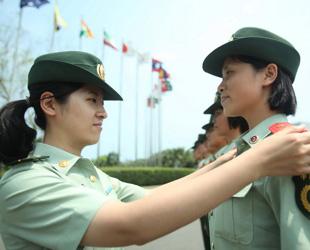 Die Jahressitzung des Bo'ao Asien-Forums findet in diesem Jahr vom 26. bis zum 28. März auf der südchinesischen Inselprovinz Hainan statt. Die Militärpolizisten, die für die Sicherheit des hochrangigen Treffens zuständig sind, sind schon gut darauf vorbereitet.