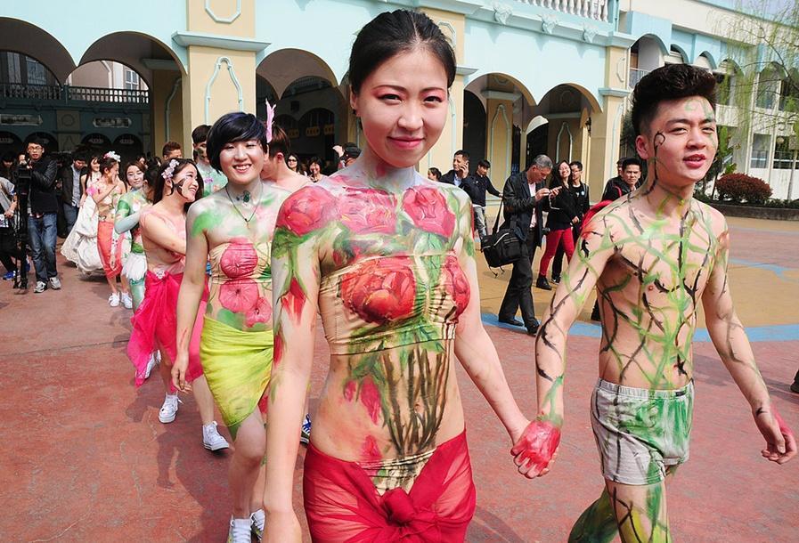 Naked wedding- China.org.cn