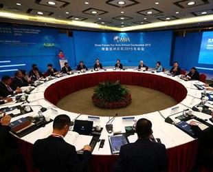 Gestern nachmittag fand die 'Konferenz der Medienvertreter' im Rahmen des Bo'ao Asien-Forums in der südchinesischen Gemeinde Bo'ao statt. Dabei hielt Jiang Jianguo, Direktor des Presseamtes beim chinesischen Staatsrat eine Rede.
