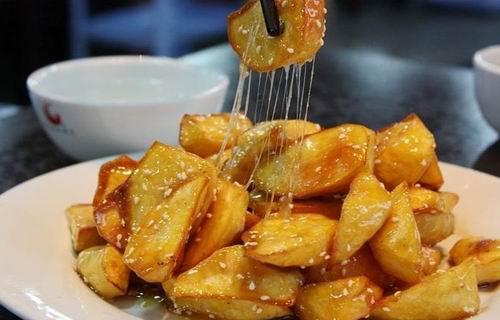 Kochen wir Chinesisch: Karamellisierte Kartoffeln