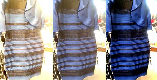 c59a51356f8d6d ... blau-schwarzes Kleid wahr. Beim Fall des Gebäudes spielt die  unterschiedliche Wahrnehmung des Lichts durch die Augen eine wichtige Rolle.