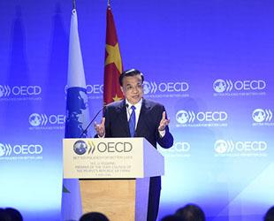 China hofft, dass die Organisation für wirtschaftliche Zusammenarbeit und Entwicklung (OECD) bei ihrem Modernisierungsschub eine stärkere politische Unterstützung und vermehrt Ratschläge bietet, sagte der chinesische Premierminister Li Keqiang am Mittwoch.