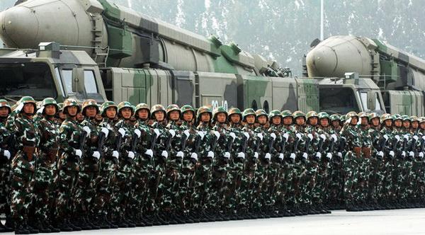 Die Militärzonen der chinesischen Volksbefreiungsarmee