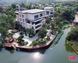 china privatgarten in chongqing pflanzen kosten mehr als 3 millionen euro. Black Bedroom Furniture Sets. Home Design Ideas