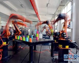 China zweites Jahr in Folge weltgr??ter Markt für Roboter