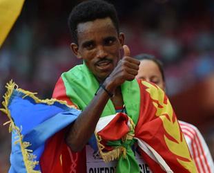 Ghebreslassie gewinnt Marathon bei Leichtathletik-Weltmeisterschaften in Beijing
