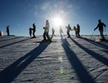 Der Platz für das Skispringen des nordeurop?ischen Zenrums
