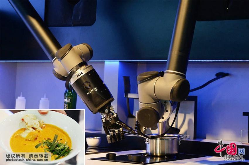 Bilder roboter k nnen mit der for Koch roboter