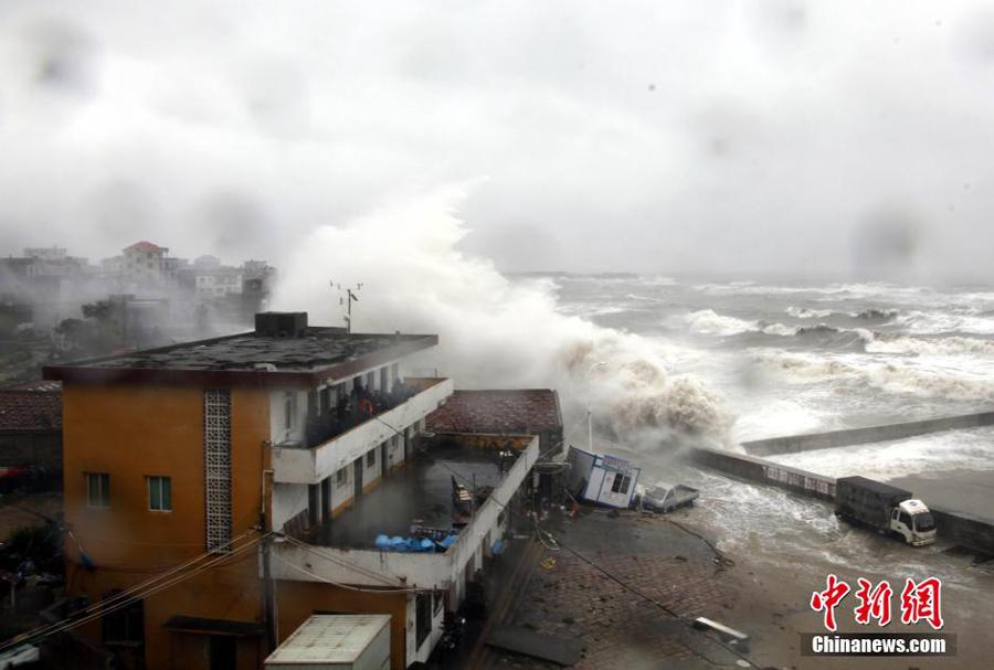 "Natur und Umwelt - german.china.org.cn - Südchina: Taifun ""Dujuan ..."