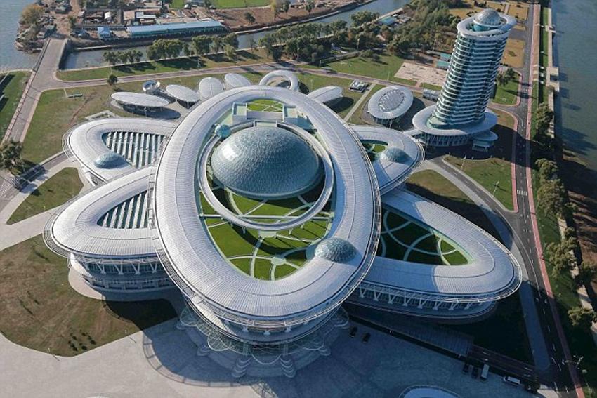 Nordkorea: Palast der Wissenschaft und Technik C03fd54ab8b2179d2a7501