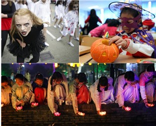 """Am 31. Oktober ist Halloween, das amerikanische 'Geisterfest"""". Auch in China gibt es ein Geisterfest, das den Namen 'Zhongyuan-Festival'oder 'Fest der hungrigen Geister'trägt."""