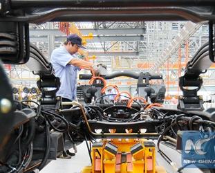 Chinas Fabriken haben stabilen PMI